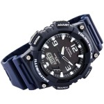 Casio SOLAR ANADIGI WATCH NAVY WHT AQS810W-2A2V