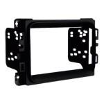 Car stereo installation kit - matte black