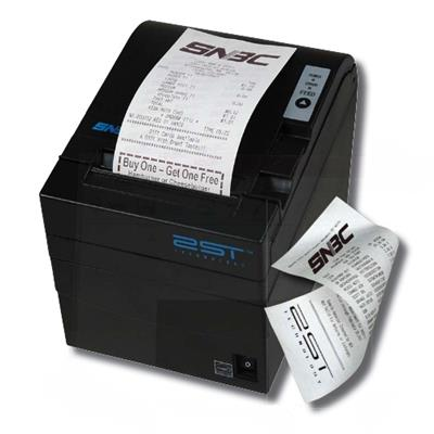 Samsung BTP-R990 Two-Sided Printing Thermal Receipt Printer USB/Serial - Black (132056)