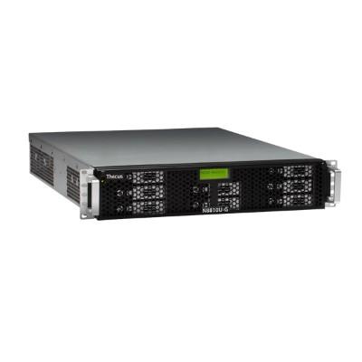 ThecusN8810U-G Intel Pentium G850 Dual-Core 2.90GHz NAS Server - 4GB RAM, 0GB HDD, Gigabit Ethernet(N8810U-G)