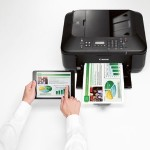 PIXMA MX532 - Multifunction printer - color - ink-jet - Legal (8.5 in x 14 in) (original) - Legal (media) - up to 9.7 ipm (printing) - 100 sheets - 33.6 Kbps - USB 2.0, Wi-Fi(n), USB host with  InstantExchange