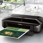PIXMA IX6820 - Printer - color - ink-jet - 13 in x 19 in - 600 x 600 dpi - up to 14.5 ipm (mono) / up to 10.4 ipm (color) - capacity: 150 sheets - USB 2.0, LAN, Wi-Fi(n) with  InstantExchange