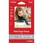 GP-601 - Glossy photo paper - 8.2 mil vibrant - 3.95 in x 5.9 in - 210 g/m² - 100 sheet(s)