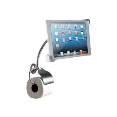 CTA Digital Wall Mount Bathroom Stand with Paper Holder - mounting kit (PAD-WBS)