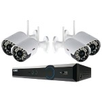 Lorex Technology ECO Black Box 960H 4-Channel Stratus DVR with 4 Wireless Cameras LH03045GC4W