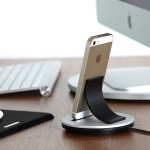 Just-Mobile AluBolt - Upright Lightning dock for iPhone and iPad mini ST-178