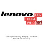 Lenovo power supply - hot-plug / redundant - 800 Watt 4X20E54691