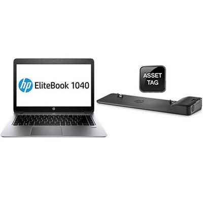 HP Smart Buy EliteBook Folio 1040 G1 Intel Core i5-4200U Dual-Core 1.60GHz Notebook PC - 4GB RAM, 128GB mSATA SSD, 14