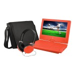 "EPD909 - DVD player - portable - display: 9"" - red"