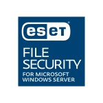 ESET File Security for Microsoft WindowsServer New 1yr, 1 Server, includes RemoteAdministrator Add-on 1-10 User Level WFS-E1-B5