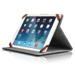 Universal Folio Travel - Flip cover for tablet - black