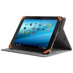 Universal Folio Travel - Flip cover for tablet - red