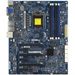 SUPERMICRO X10SAT - Motherboard - ATX - LGA1150 Socket - C226 - USB 3.0, FireWire - 2 x Gigabit LAN - onboard graphics (CPU required) - HD Audio (8-channel)