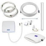 SOHO Xtreme dual-band cell phone signal booster covers up to 5,500 sq. ft.