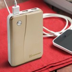 Lenmar Helix PPW11000UG - Power bank Li-Ion 11000 mAh - 3 output connectors PPW11000UG