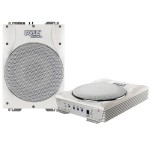 10'' 1000 Watts Low-Profile Super Slim Active Amplified Marine/Waterproof Subwoofer System