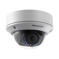 HIKvision DS-2CD2732F-I - Network surveillance camera - dome - vandal-proof - color (Day&Night) - 2048 x 1536 - vari-focal - LAN 10/100 - MJPEG, H.264 - DC 12 V / PoE DS-2CD2732F-I