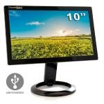 "t DS-10U - LCD monitor - 10.1"" (10.1"" viewable) - 1024 x 600 - 200 cd/m² - 500:1 - 16 ms - USB - black"