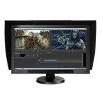 "ColorEdge CG277-BK - LED monitor - 27"" - 2560 x 1440 - IPS - 300 cd/m² - 1000:1 - 6 ms - HDMI, DVI-D, DisplayPort - black"