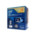 Intel Core i5 4590 - 3.3 GHz - 4 cores - 4 threads - 6 MB cache - LGA1150 Socket - Box BX80646I54590