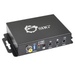 SIIG VGA & Audio to HDMI Converter Scaler CE-H21Y11-S1