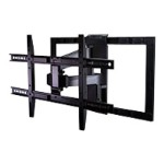 "Ultra low-profile full motion mount fits most 47-84"" TVs"