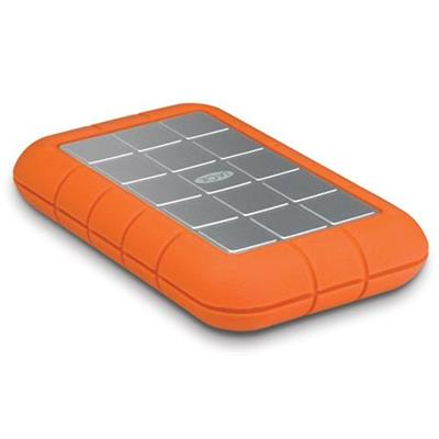 LaCie 2TB Rugged Triple USB 3.0 (USB 2.0-compatible) and FireWire 800 External Hard Drive (9000448)