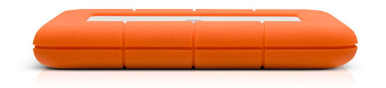 The LaCie 2TB Rugged Triple Interface Portable Hard Drive Provides  Universal Connectivity: Youve Got The Superior Speeds Of USB 3.0 And  FireWire 800, ...