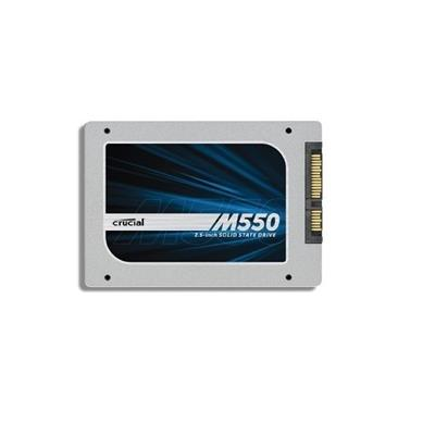Crucial 256GB M550 SATA 6Gbps 2.5in SSD (CT256M550SSD1)