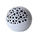 KB Covers Audio X1 - Speaker - for portable use - wireless - white KBAUDIO-X1-W