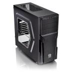 Versa H21 Window - Mid tower - ATX - no power supply ( PS/2 ) - black - USB/Audio
