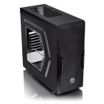 ThermalTake Versa H22 Window - Mid tower - ATX - no power supply ( ATX / PS/2 ) - black - USB/Audio CA-1B3-00M1WN-00