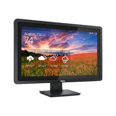 DellE2014T - LED monitor - 19.5