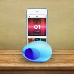 NUSOUND-POD FOR IPHONE - BLUE