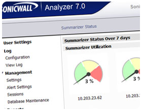 Dell Sonicwall Analyzer