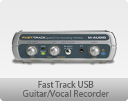 M-Audio Fast Track USB Guitar/Vocal Recorder