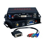 QVS HDMI/DVI HDTV/HDCP to VGA/RGB 720p/1080p Break-Outs - Video converter HCV-VA
