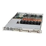 Super Micro Supermicro SC818 S-1000 - Rack-mountable - 1U - SCSI - hot-swap 1000 Watt - black - USB/serial - for P/N: AS-1040C-8, AS-1040C-8B CSE-818S-1000B