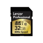 Lexar Media Professional - Flash memory card - 32 GB - UHS Class 1 / Class10 - 600x - SDHC UHS-I ( pack of 2 ) LSD32GCRBNA6002