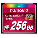 Transcend 256GB 800x CompactFlash (CF) Card TS256GCF800