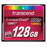 Transcend 128GB 800x CompactFlash (CF) Card TS128GCF800