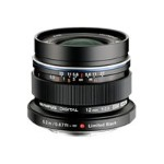 Olympus M.Zuiko Digital - Wide-angle lens - 12 mm - f/2.0 ED - Micro Four Thirds V311020BU001