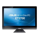 "ASUS All-in-One PC ET2700INTS - All-in-one - 1 x Core i5 2400S / 2.5 GHz - RAM 4 GB - HDD 1 TB - DVD-Writer / Blu-ray - GF GT 540M - GigE - WLAN : 802.11b/g/n, Bluetooth 3.0 - Win 7 Home Premium 64-bit - Monitor : LED 27"" 1920 x 1080 ( Full HD ) Multi-Touch ET2700INTS-B021C"