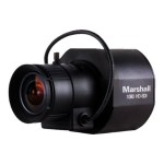 MXL Marshall CV342-CSB - CCTV camera - color ( Day&Night ) - 2.2 MP - 1920 x 1080 - CS-mount - auto iris - composite, HD-SDI - DC 12 V CV342-CSB