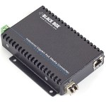 Black Box PoE Industrial Gigabit Ethernet Media Converter, SFP LGC5300A