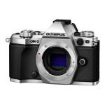 Olympus OM-D E-M5 Mark II - Digital camera - mirrorless system - 16.1 MP - body only - Wi-Fi - silver V207040SU000