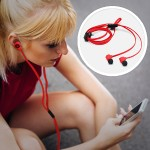 Nokia Coloud Pop WH-510 - Earphones with Mic - Perfect for iPhone - Red 02738X0