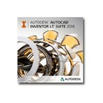 Autodesk AutoCAD Inventor LT Suite 2016 - Unserialized Media Kit - DVD - Win - Worldwide English 596H1-WE51T1-L001
