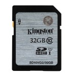 Kingston Digital 32GB SDHC Class10 UHS-I 45MB/s Read Flash Card SD10VG2/32GB