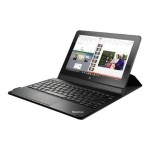 Lenovo ThinkPad 10 Folio Keyboard - Keyboard and folio case - Norwegian - for ThinkPad 10 4X30J32073